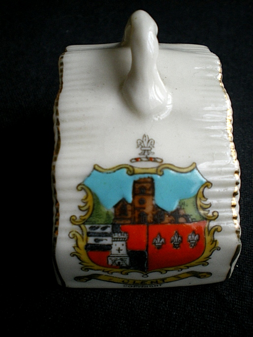 Solent Cheesedish Cover Crested Ware